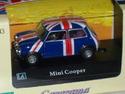 english flag NOREV 3 INCHES MINI COOPER 1//64